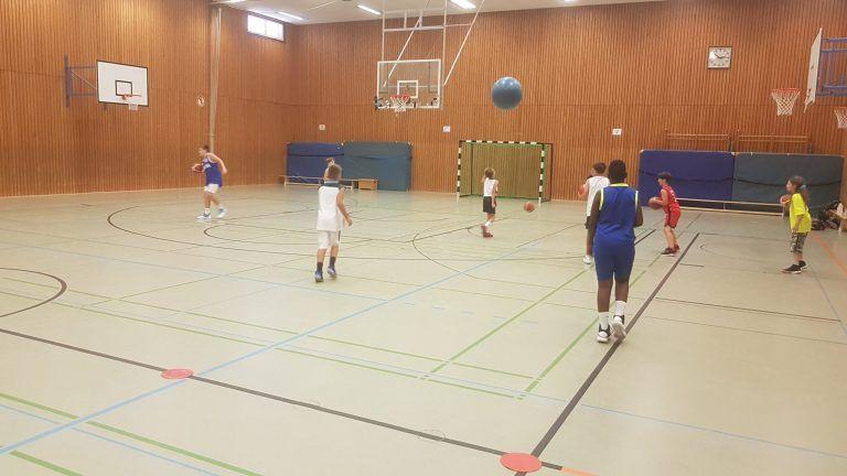 """""""Kleine Basketballer"""" geben Vollgas in den Sommerferien"""